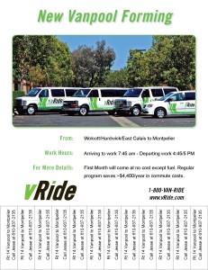 Flyer Ride_Vanpool_Forming